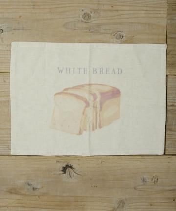 salut!(サリュ) 【Bread Market】BREADランチョンマット(WHITEBREAD)