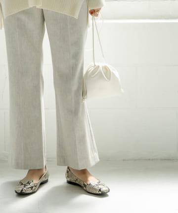 La boutique BonBon(ラブティックボンボン) 【COZスタイル・映える5カラー・ESLOW】ドローストリングバッグ
