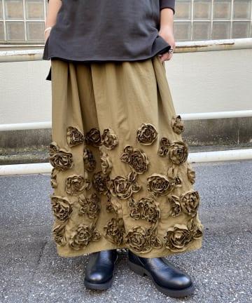 BEARDSLEY(ビアズリー) 《予約・クーポン10%OFF》花スカート