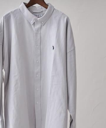 CPCM(シーピーシーエム) 【U.S. POLO ASSN.】 ビッグオックスシャツ