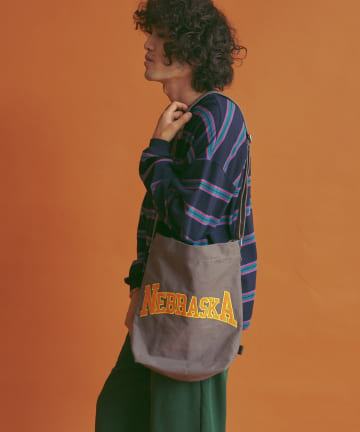 CPCM(シーピーシーエム) NEBRASKAロゴ刺繍トートバッグ