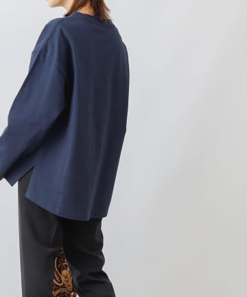 COLONY 2139(コロニー トゥーワンスリーナイン) COLOR KEEPバックボリューム長袖Tシャツ