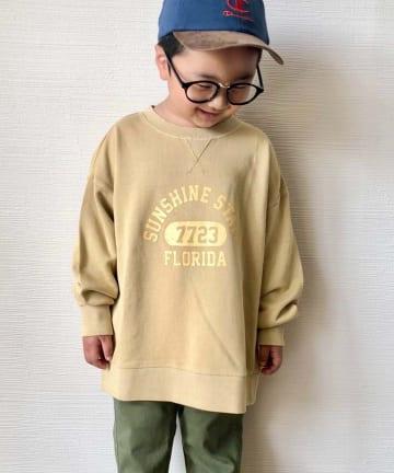 CIAOPANIC TYPY(チャオパニックティピー) 【KIDS】ピグメントカレッジスウェット