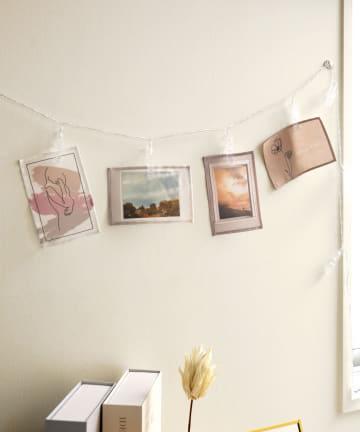 3COINS(スリーコインズ) 【アレンジ次第で楽しみ方いろいろ】ファブリックポストカード:4枚セット
