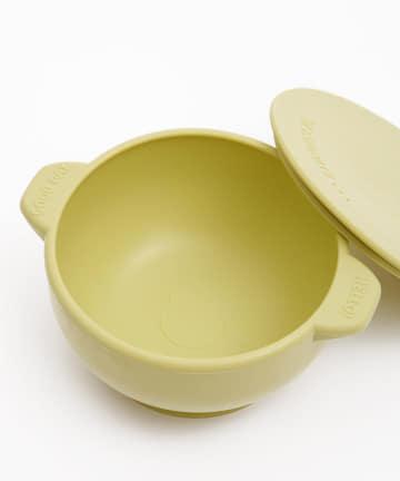 3COINS(スリーコインズ) 【お手入れ簡単・食べこぼし防止】シリコンフードボール