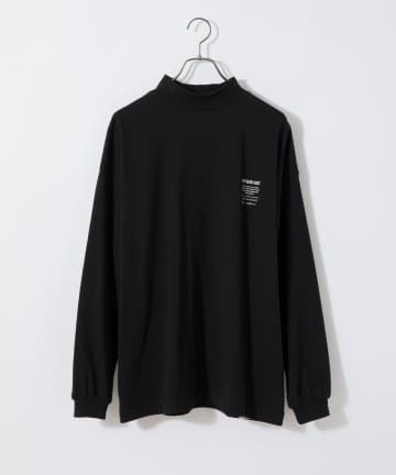 CIAOPANIC(チャオパニック) 【SUPER THANKS/スーパーサンクス】モックネックロングスリーブTシャツ