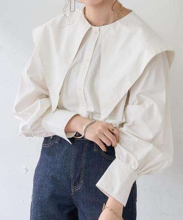 Discoat(ディスコート) ビックカラーシャツ