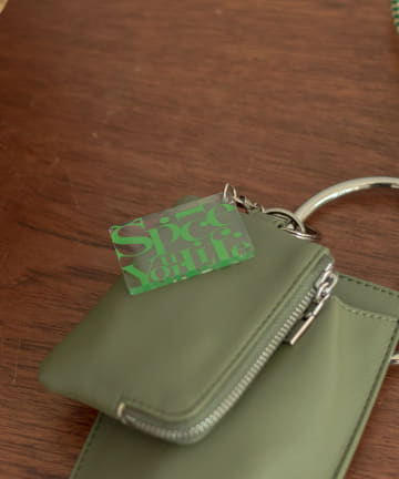 Kastane(カスタネ) 【Spice Your Life】LOGO key charm