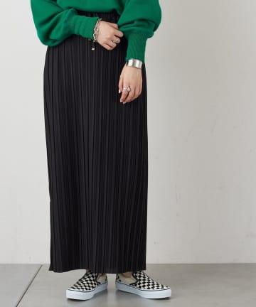 CIAOPANIC TYPY(チャオパニックティピー) カットプリーツIラインスカート