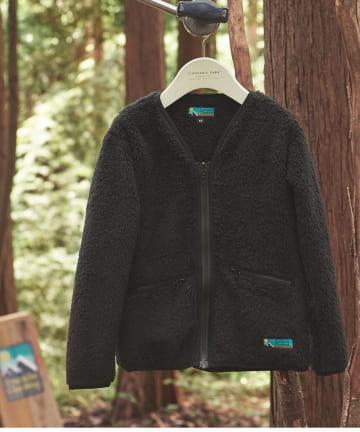 CIAOPANIC TYPY(チャオパニックティピー) 【Franklin Climbing】KID's シェルパフリースジャケット