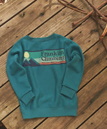 CIAOPANIC TYPY(チャオパニックティピー) 【Franklin Climbing】KID'sロゴスウェット