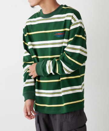 Discoat(ディスコート) 【CURIOSITY】90s マルチボーダーロンTシャツ