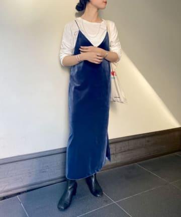 SHENERY(シーナリー) ベロアロングキャミドレス