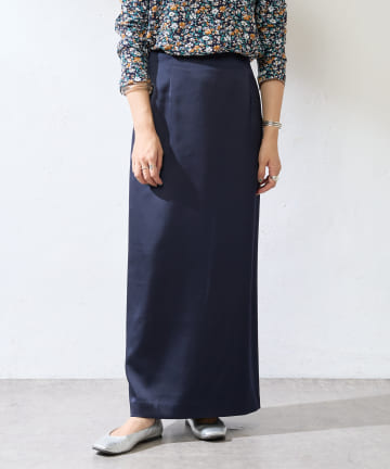 SHENERY(シーナリー) サテンタイトマキシスカート