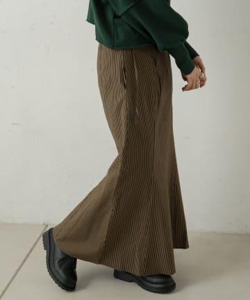 Kastane(カスタネ) ストライプサッカーマーメイドスカート