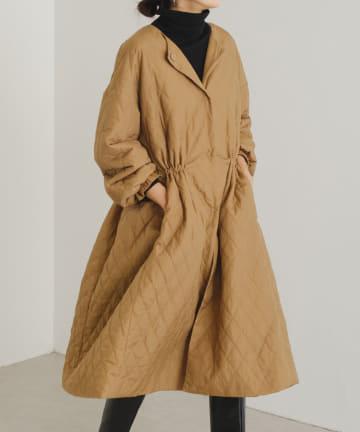 BEARDSLEY(ビアズリー) 《予約》バルーン袖キルトコート