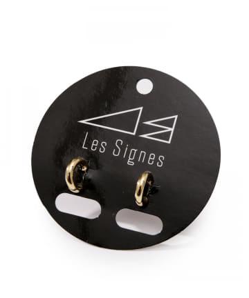 Lattice(ラティス) 【LesSignes】メタルミニフープピアス