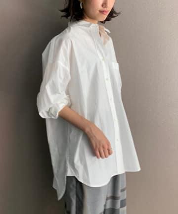 BEARDSLEY(ビアズリー) 香水瓶刺繍シャツ