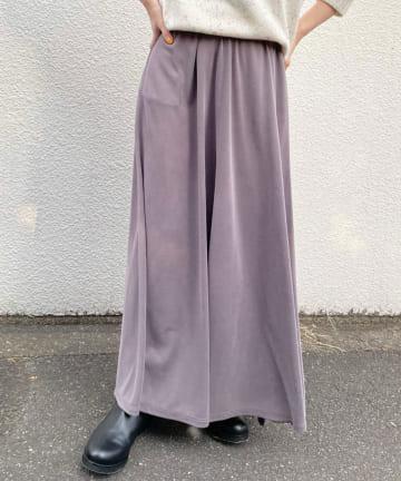 SHENERY(シーナリー) 【WEB限定】フィブリルカノコロングスカート