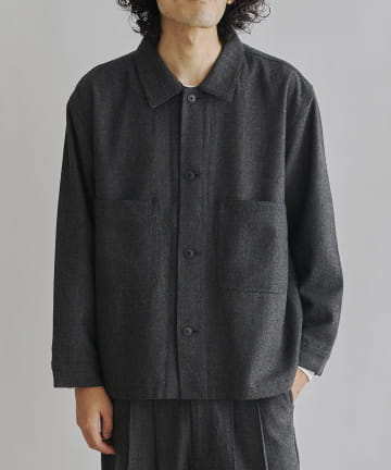 CPCM(シーピーシーエム) 【同シリーズでセットアップ可能】起毛カバーオールジャケット