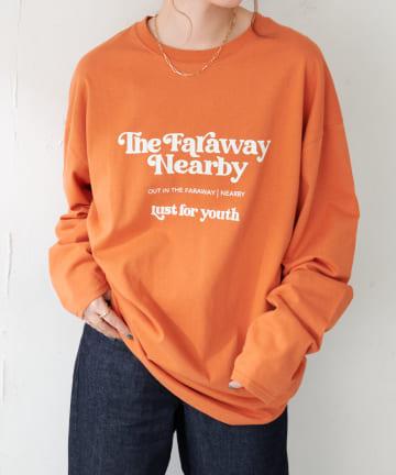 Discoat(ディスコート) アメリカンロゴロングTシャツ