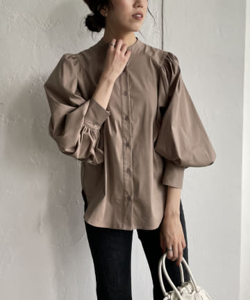CAPRICIEUX LE'MAGE(カプリシュレマージュ) ボリュームスリーブシャツ