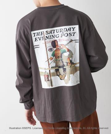 Discoat(ディスコート) 【THE SATURDAY EVENING POST】別注ロングTシャツ