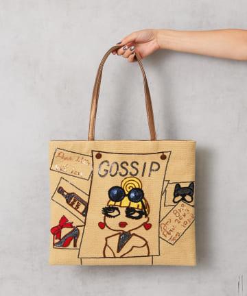 Pal collection(パルコレクション) 《個性派バッグ》ゴシップガールトートバッグ