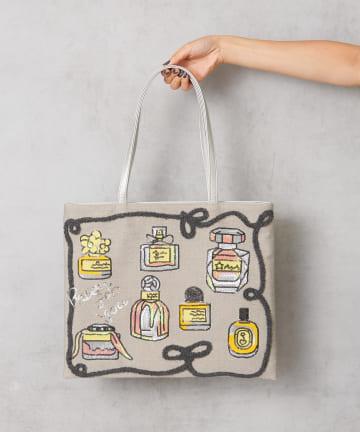 Pal collection(パルコレクション) 《個性派バッグ》パフュームトートバッグ