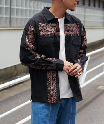 Discoat(ディスコート) ボヘーノメンズシャツ