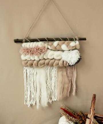 3COINS(スリーコインズ) 【ハロウィンを楽しむお部屋づくり】毛糸ハンギング