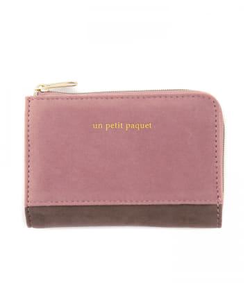 3COINS(スリーコインズ) Lジップミニ財布