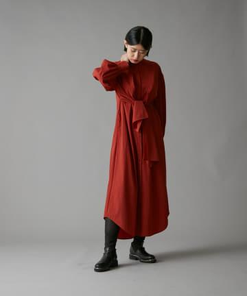 ear PAPILLONNER(イア パピヨネ) 【SUM1 STYLE(スミ スタイル)】リボンワンピース