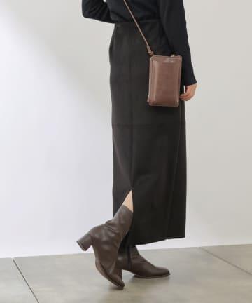 COLONY 2139(コロニー トゥーワンスリーナイン) フェイクスエードストレッチスカート