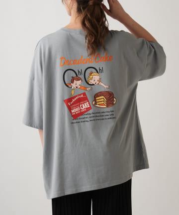 OLIVE des OLIVE OUTLET(オリーブ・デ・オリーブ アウトレット) お菓子キッズBIGTシャツ