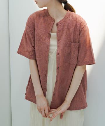 OUTLET(アウトレット) 【Kastane】アラベスクSETUPシャツ