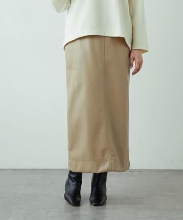 LIVETART(リヴェタート) フェイクレザースカート