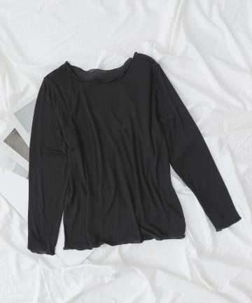 COLONY 2139(コロニー トゥーワンスリーナイン) 着る美容液(ボートネックTシャツ)