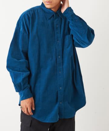 Discoat(ディスコート) 28Wコールビックシャツ