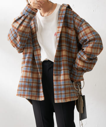 Discoat(ディスコート) スーパービックチェックCPOシャツ