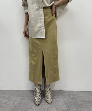 Loungedress(ラウンジドレス) エコスエードマキシスカート