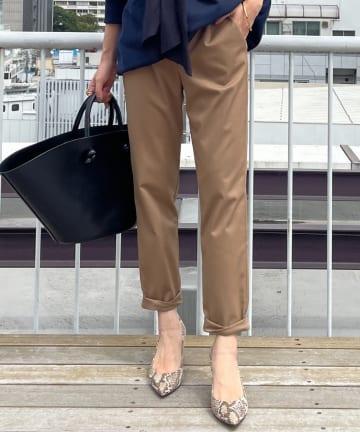 Loungedress(ラウンジドレス) TR裾ねじりパンツ