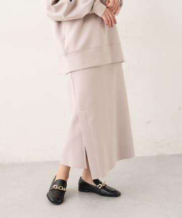 Lui's(ルイス) サイドベンツスリットストレートスカート