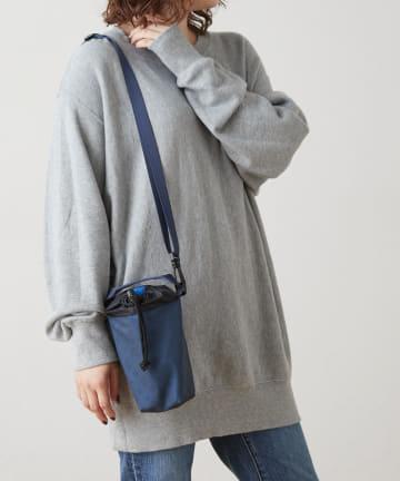 Daily russet(デイリー ラシット) 【防水】巾着ペットボトルショルダーバッグ