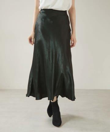 OUVRAGE CLASSE(ウヴラージュクラス) マーメイドセミフレアスカート