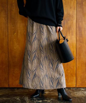 Loungedress(ラウンジドレス) ゼブラマーメイドスカート