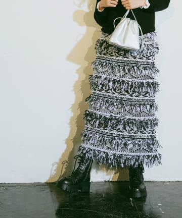 La boutique BonBon(ラブティックボンボン) 【COZスタイル・主役級】マリアケントマーメイドスカート