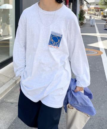 WHO'S WHO gallery(フーズフーギャラリー) 《WEB限定》東京ガール ロンT