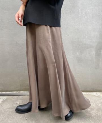 BEARDSLEY(ビアズリー) キュプラマーメイドスカート