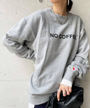 DOUDOU(ドゥドゥ) 【NO COFFEE×FTL】トレーナー